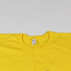 56dc5a16 Champion Shirts | Vintage Spell Out Knit Shirt Yellow Xl | Poshmark